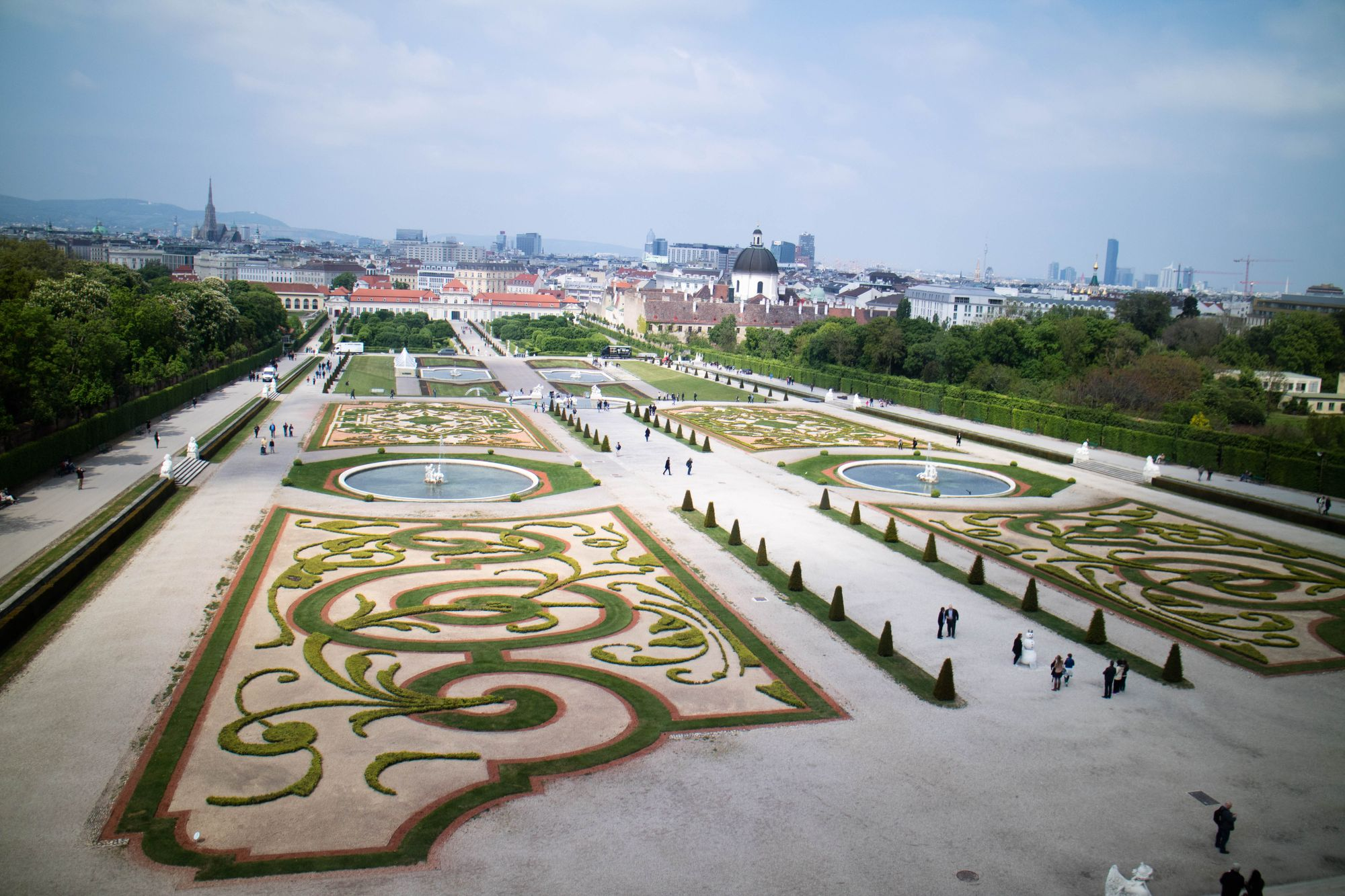 the gardens of belvedere